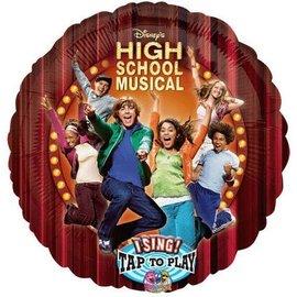 "Foil Balloon - Singing - High School Musical - 28"""