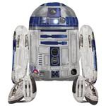 "Foil Balloon - Airwalker - Star Wars R2-D2 - 34""x38"""