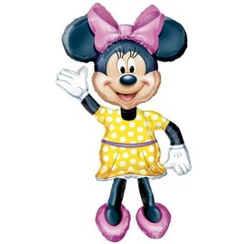 Foil Balloon-Airwalker-Minnie Mouse Vintage