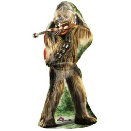 "Foil Balloon - Star Wars Chewbacca - 17""x38"""