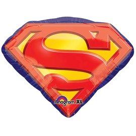 "Foil Balloon - Superman Logo - 26""x20"""