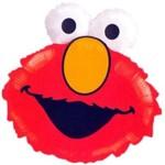 Foil Balloon-Supershape-Sesame Street-Elmo Head