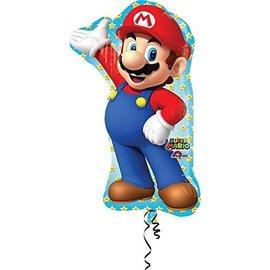 """Foil Balloon - Super Mario - 22""""x33"""""""