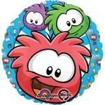 """Foil Balloon - Club Penguin Puffles - 18"""""""