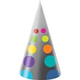 Hats-Birthday Pop (8pk)