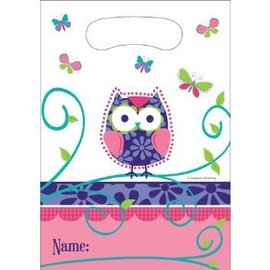 Loot Bags-Owl Pal Birthday (8pk)
