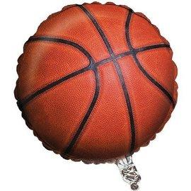 "Foil Balloon - Basketball Fanatic - 18"""