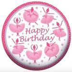 "Foil Balloon - Tutu Much Fun Happy Birthday - 18"""
