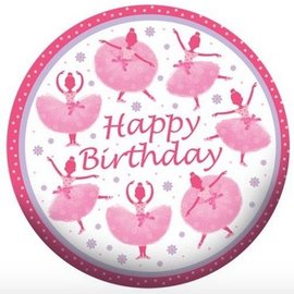 Foil Balloon - Tutu Much Fun Happy Birthday - 18""