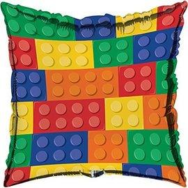 "Foil Balloon - Block Party - 18"""