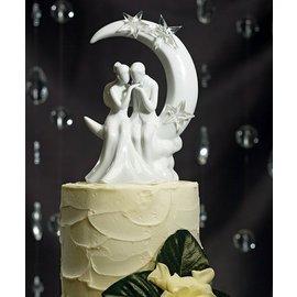 """Cake Topper-Written in the Stars Couple-1pkg-6.25"""""""