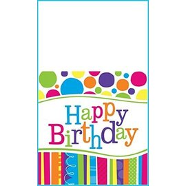 Table Cover-Bright and Bold HBD-Plastic-54''x108''