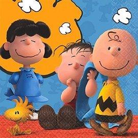 Napkins-BEV-Snoopy Peanuts-16pk-2ply