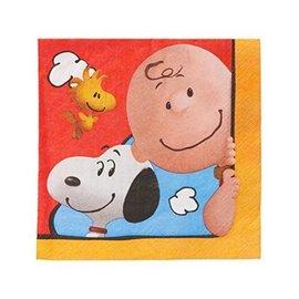 Napkins-LN-Snoopy Peanuts-16pk-2ply