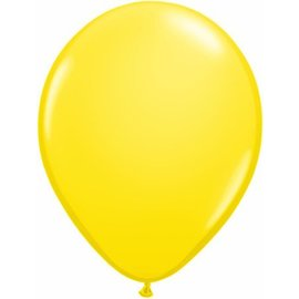 Latex Balloon-Yellow-1pkg-16""