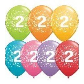 "Latex Balloon-#2 Stars Assortment-1pkg-11"""