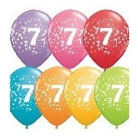 "Latex Balloon-#7 Stars Assortment-1pkg-11"""