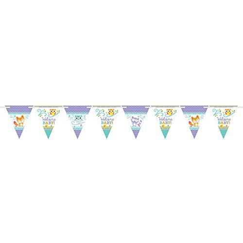 Welcome Baby Pennant Banner New!