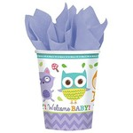 9oz Cups - Baby Shower - Woodland Welcome - 8pcs