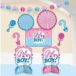 Decorating Kit - Gender Reveal- 10pcs