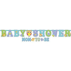 Jumbo Banner Kit - Baby Shower - Mom to Be -  Woodland Welcome