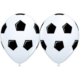 "Latex Balloons - Soccer Ball / Football - 11"""