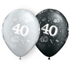 "Latex Balloon-40 A Round Assortment-11"""