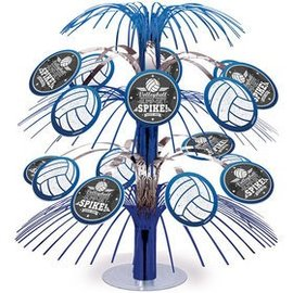 Cascade Centerpiece - Volleyball - 14""