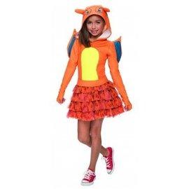 Charizard Costume Medium Girls