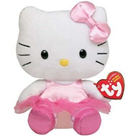 Hello Kitty Ballerina Ty-1pkg-6""