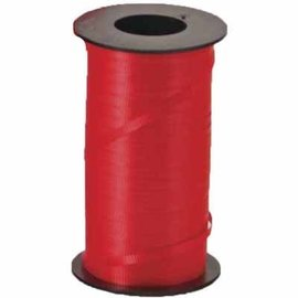 Curling Ribbon-Lava Red