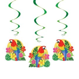 Hanging Decorations - Hawaiian Parrots