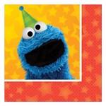 Beverage Napkins-Sesame Street 2-16pk-2ply