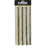 Beads - Gold, Silver,Black - 24pk