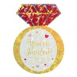 Invitations-Bridal Shower -8pk