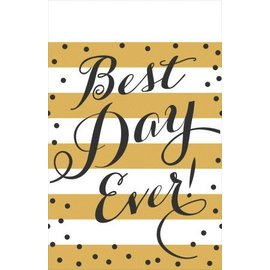 Tablecover-Best Day Ever-54''x102''-Plastic- Discontinued