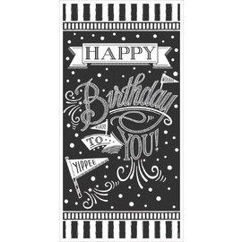 Banner- Happy Birthday Chalkboard