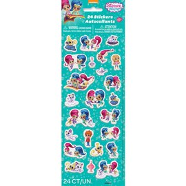 Puffy Stickers - Shimmer and Shine