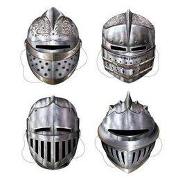 "Masks-Medieval Knights-4pkg-12"""