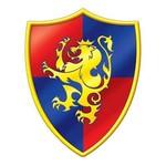 "Cutout-Medieval Shield-1pkg-16"""