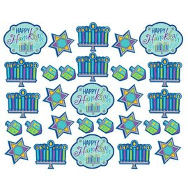 Cutouts-Hanukkah-Value/30pkg-Paper