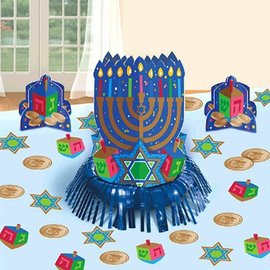 Table decorating kit - Hanukkah