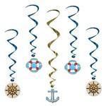 Danglers-Foil Swirl-Cruise Ship