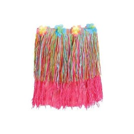 Grass Skirt-Hula Rainbow-Child-22'' x 12''