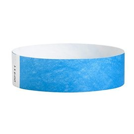 Wristbands-Neon Blue-100pkg