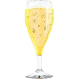 Foil Balloon-Supershape-Bubbly Champagne Glass