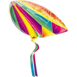 "Foil Balloon - Rainbow Kite - 24""x29"""