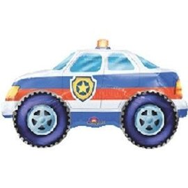 Foil Balloon-Supershape-Police Car