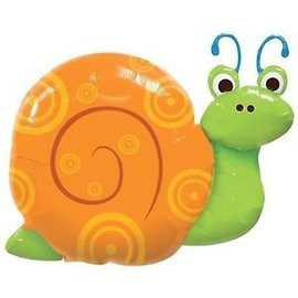 Foil Balloon-Supershape-Swirly Shelled Snail