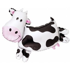 Foil Balloon-Supershape-Jumping Cow